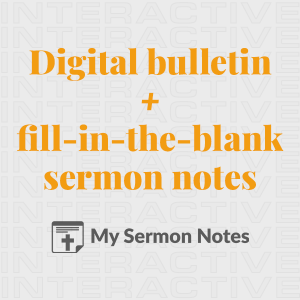 Church Bulletin Ideas Examples Of Bulletins And Other Print Media Submit A